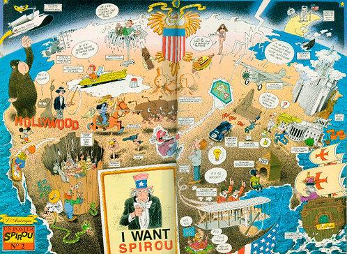 2840 Dessin  L'Amérique  Ernst 1992