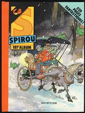 181 Journal de Spirou recueil