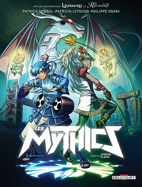 Mythics (Les) 9 Stoneheige Sobral Delcourt