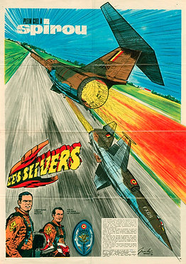 1680   Les Slivers  Jean–Luc Beghin  1970