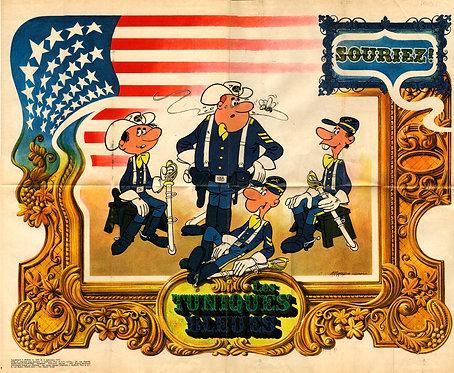 1690  Tuniques bleues Salvérius 1970