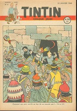 TINTIN 1948 n° 4