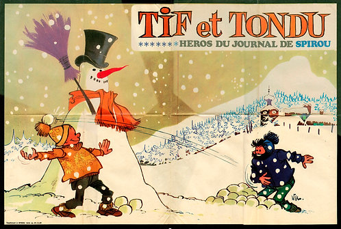 1654   Tif et Tondu  Will 1969