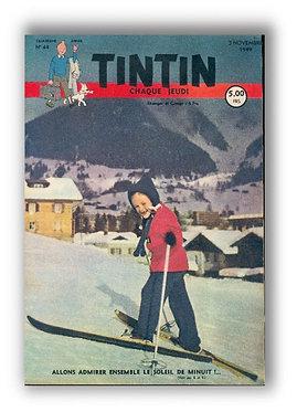 TINTIN 1949 n° 44