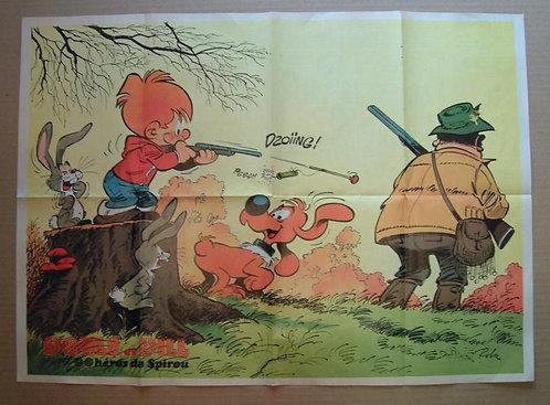 1961 Boule et Bill Roba + Musée : Natacha en crayonné Walthéry  1975