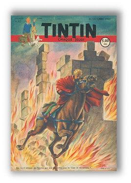 TINTIN 1949 n° 42