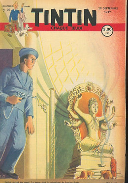 TINTIN 1949 n° 39