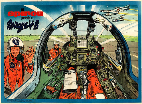 1695 Mirage V  Jean–Luc Beghin 1970