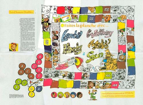 2043 Faites la planche avec Lambil, Walthéry et amis 1977