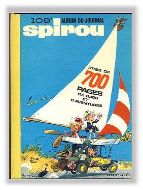 109 Journal de Spirou recueil