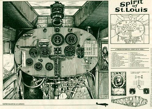 2042 Spirit of St. Louis Jean–Luc Beghin 1977