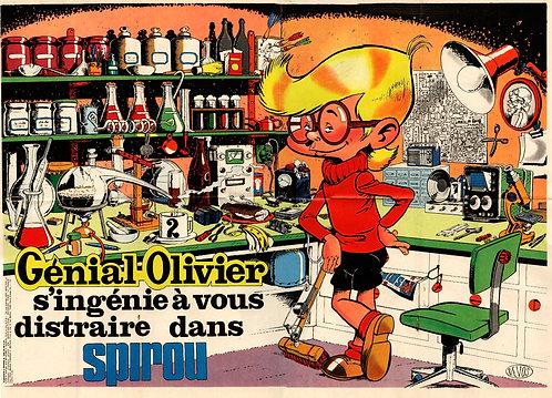AC 1824   Génial Olivier  Devos 1973