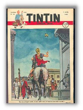 TINTIN 1949 n° 14