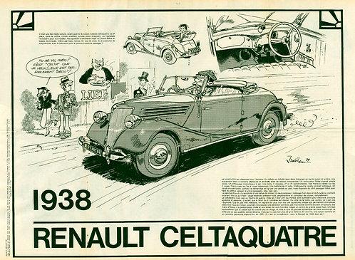 2203 Renault Celtaquatre  Jidéhem 1980