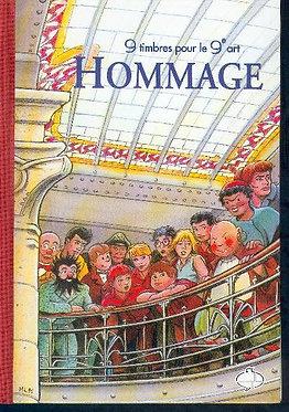 Collectif Hommage au 9eme Art 1999 LUXE Phila BD