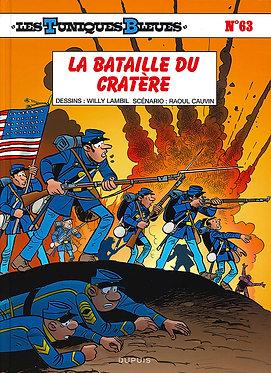 32  Tuniques Bleues 63 La Bataille du Cratère