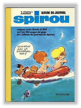 122 Journal de Spirou recueil