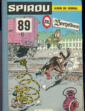 89 Journal de Spirou recueil
