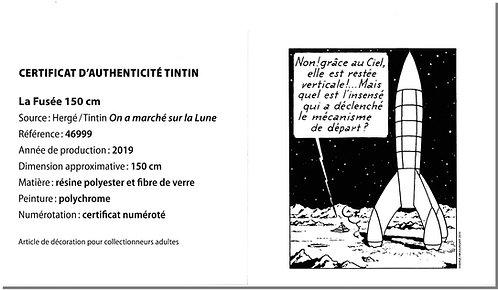 Fusée Tintin 150 cm