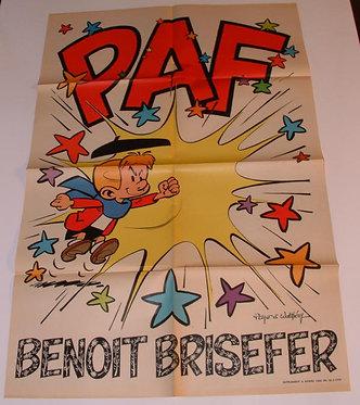 AC 1663   Benoît Brisefer  Peyo 1970