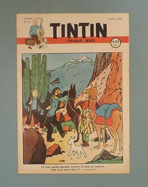 Tintin 1947 n° 19