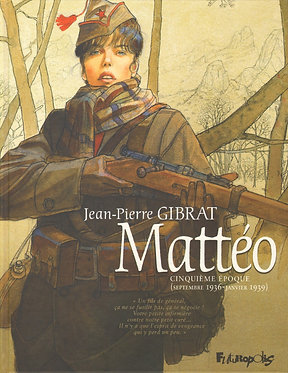 22  Mattéo 5 Cinquième Epoque (Septembre 1936-Janvier 1939)