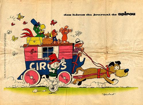 1730 Sibylline et le petit cirque Macherot 1971
