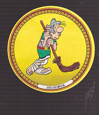 Asterix portrait Joligibus legionnaire 1968 vache qui rit