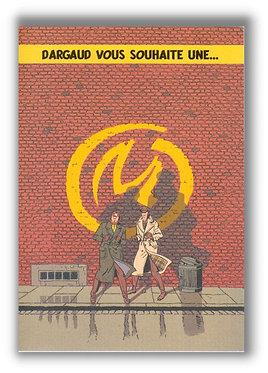 VEYS Blake Mortimer Marque Jaune Carte Voeux 2005