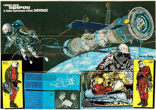 AC 1756   Station orbitale Soyouz  ???? 1971