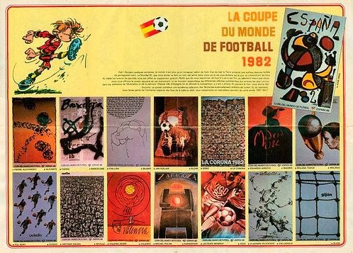 2305 Coupe du Monde de Foot 1982 + Voisin C 24 Carene  Jidéhem 1982