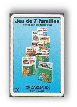 Asterix Jeu 7 Familles Cadeau Dargaud 1993