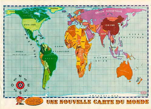 2237 Une nouvelle carte du monde  Devos 1981