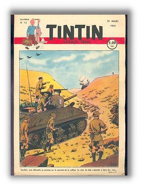 TINTIN 1949 n° 13