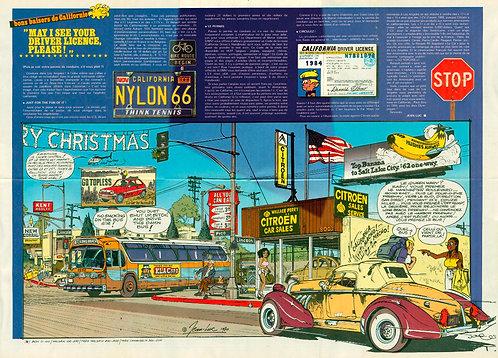 2259 Bon baisers de Californie Beghin + North American B–25 Mitchell 1981