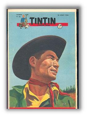 TINTIN 1949 n° 33