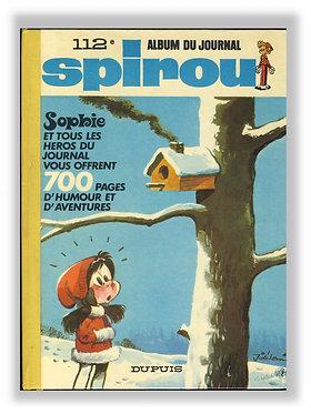 112 Journal de Spirou recueil