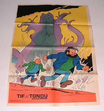 AC 1814   Tif et Tondu  Will 1973