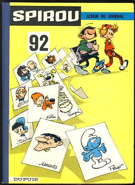 92 Journal de Spirou recueil