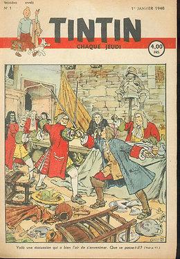 TINTIN 1948 n° 1