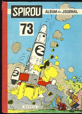 73 Journal de Spirou recueil