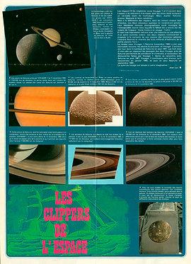 2283  Les clippers de l'espace + Petites annonces Spirou 1982