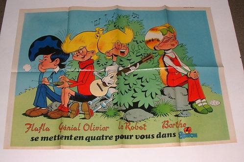 2227 Génial Olivier Devos + Mini Austin Morris 850  Jidéhem 1980