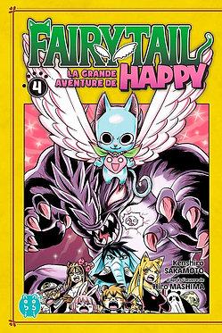 Fairy Tail - La Grande Aventure de Happy 4  Hiro Mashima Nobi Nobi / Pika
