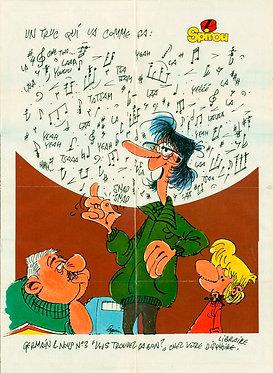 2329 Germain et nous Jannin + Petites annonces Spirou 1982