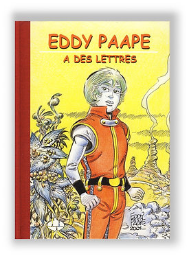 Eddy Paape a des lettres 2001 LUXE Phila BD