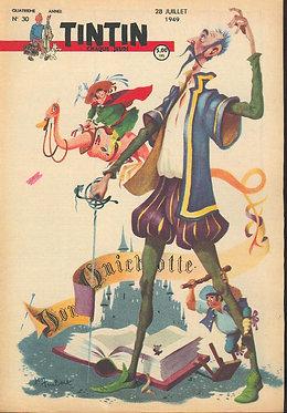TINTIN 1949 n° 30