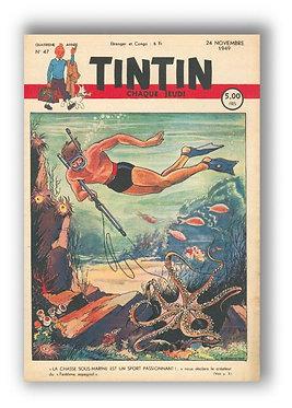 TINTIN 1949 n° 47