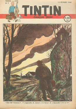TINTIN 1948 n° 7