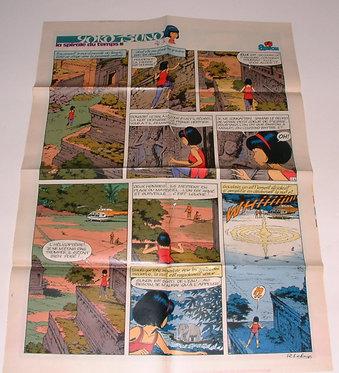 2189   Page de Yoko Tsuno  Leloup 1980